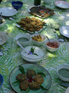 Cuisine avec des plantes sauvages comestibles